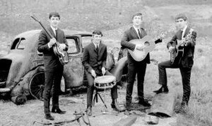 Los Beatles, en una imagen promocional de 1962.