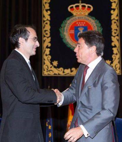 Fernado Suárez e Ignacio González en 2013.
