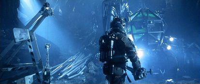 Escena de la película 'Armageddon'.