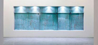 'Intento de conservación IV', obra de Carlos Bunga.