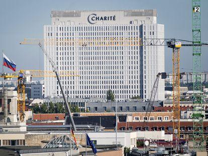 Imagen del hospital Charité de Berlín, donde está ingresado el opositor ruso Alexéi Navalni.