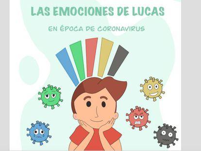 'Las emociones de Lucas', un cuento que habla de los miedos de los niños con TEA.