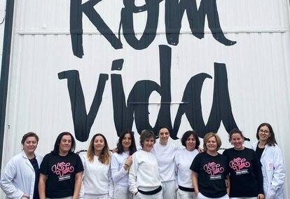 El 84% de la plantilla de Komvida, compuesta por 83 empleados, son mujeres.
