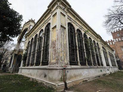 El edificio está muy dañado tras más de un siglo de su construcción