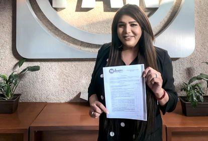 Karla Grijalva, candidata a diputada federal por el PAN.