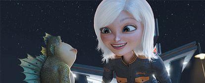 Los estudios preparan ya sus nuevas películas 3D, como <i>Monstruos vs. Alien,</i> en la imagen.