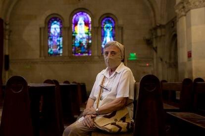 Martha Pelloni es monja de la congregación carmelita. Hace más de 40 años que organizó su primera marcha en silencio. Pincha en la imagen para ver la fotogalería completa.