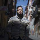 Belal Darder, fotoperiodista Egipcio refugiado, en el Barrio de Lavapiés.