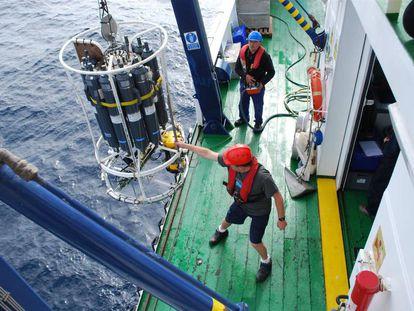 Campaña de investigación del Instituto Español de Oceanografía