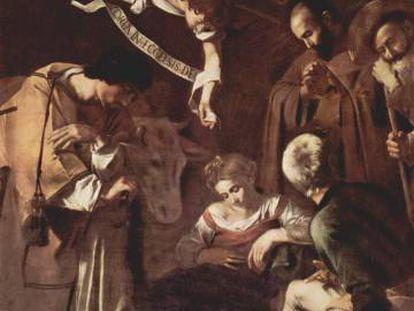 La Natividad de San Francisco y San Lorenzo, obra de Caravaggio.