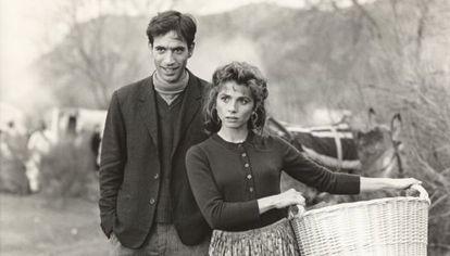 Imanol Arias y Victoria Abril en una imagen de 'El Lute' de Vicente Aranda.