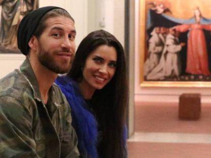 Sergio Ramos y Pilar Rubio, en abril en el Museo de Bellas Artes de Sevilla. En vídeo, así será la boda.