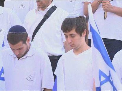 Silencio en Israel para conmemorar el Holocausto.