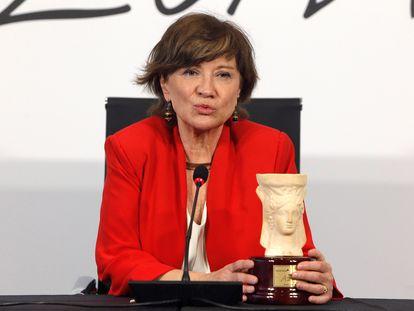 Nativel Preciado, con el Premio Azorín de Novela.
