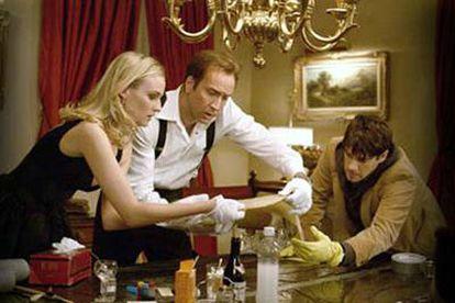 Diane Kruger, Nicolas Cage y Justin Bartha, en <i>La búsqueda. </i>