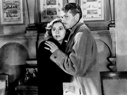 Joan Fontaine y Laurence Olivier, en una imagen de 'Rebeca'.