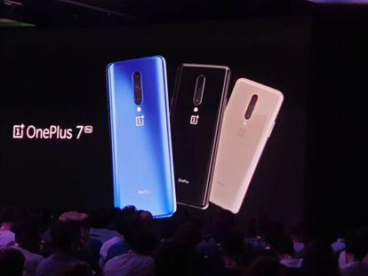 Presentación del OnePlus 7 Pro, en Londres.