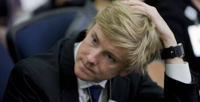 Chris Hughes, cofundador de la red social Facebook, en una foto de 2010