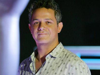 El cantante Alejandro Sanz, en mayo del año pasado.