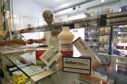 Algunos de los medicamentos que quedan excluidos de la financiación pública.