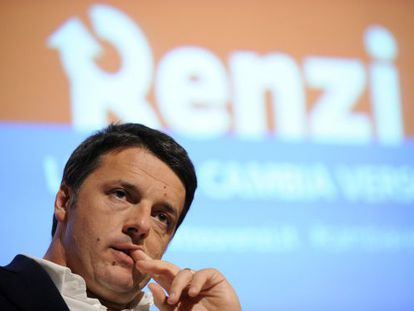 Matteo Renzi, en diciembre pasado.