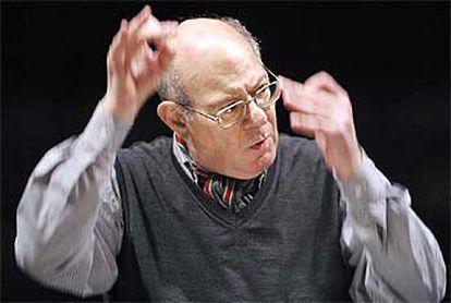 El compositor germano-argentino Mauricio Kagel.