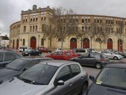 Plaza de toros de El Puerto, en la que está proyectado un aparcamiento.