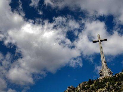 Cruz del Valle de los Caídos, donde está enterrado el dictador Francisco Franco.