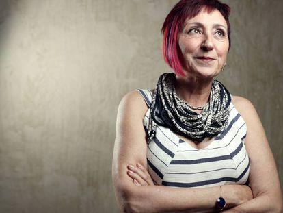La escritora Elia Barceló, en mayo de 2017.