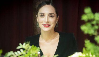Tamara Falcó, fotografiada en diciembre en Madrid.