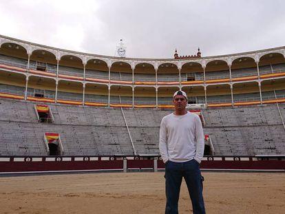 Frank Cuesta, el pasado miércoles en la plaza de toros de Las Ventas.