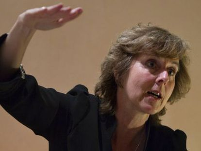 Entrevista con la comisaria europea de Cambio Climático, Connie Hedegaard.