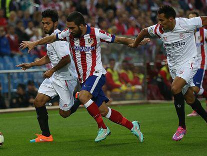 Kolo, en un partido ante el Atlético de Madrid.