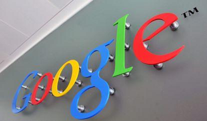 Logo de Google en una de sus sedes.