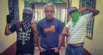 Jon Sistiaga, en una imagen del documental 'Honduras: la mara vida'.