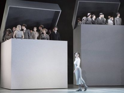 Un momento de la representación de 'Béatrice et Bénédict' en Glyndebourne.