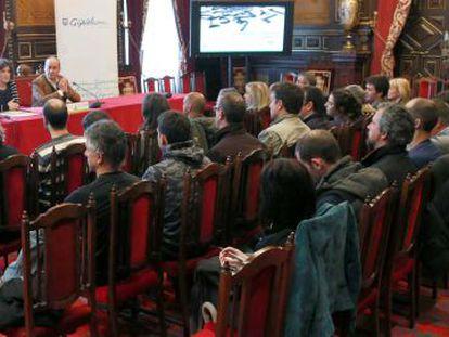Alcaldes de Gipuzkoa escuchan este lunes las explicaciones de Garitano sobre las cuentas forales.