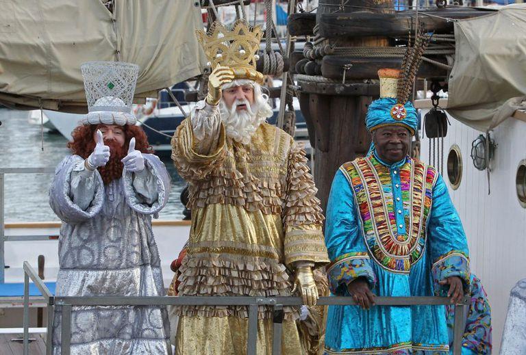 Cabalgata de Reyes en Barcelona, en 2014.
