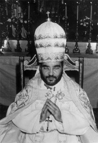 Clemente Domínguez, el papa de El Palmar de Troya.