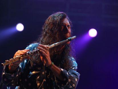 Jorge Pardo en una actuación reciente.