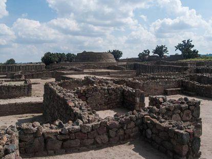 Tecoaque, una de las zonas arqueológicas de Tlaxcala.