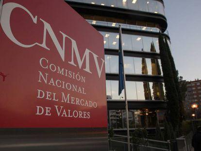 Sede de la Comisión Nacional del Mercado de Valores (CNMV) en Madrid.