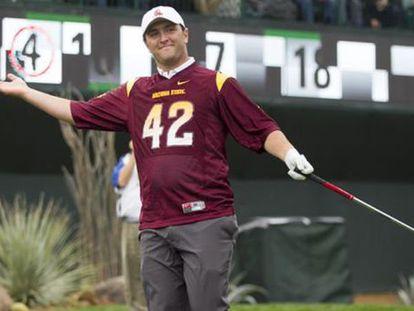 Jon Rahm, durante el torneo.