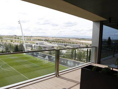 Ciudad Deportiva del Real Madrid en Valdebebas.