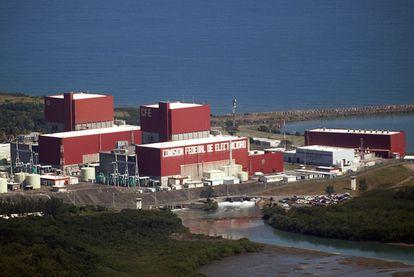 La Central Nuclear de Laguna Verde, en Veracruz, en una imagen de archivo de noviembre de 2010.
