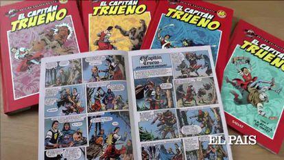 El Capitán Trueno, cuando el cómic se llamaba tebeo