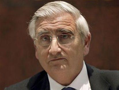 Ricard Pagès, expresidente de Caixa Penedès. / EFE (ANDREU DALMAU)