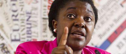 Cecile Kyenge, ministra de Integración de Italia.