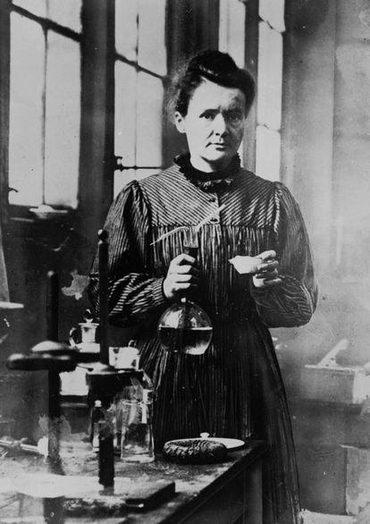 Marie Curie, la menor de cinco hermanos.