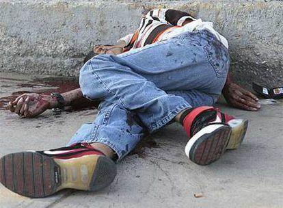 El cadáver de Homero Romero, presunto homicida de la estudiante Flavia Isapia